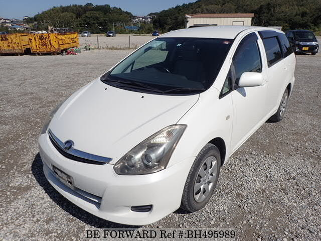 Used 2008 TOYOTA WISH BH495989 for Sale