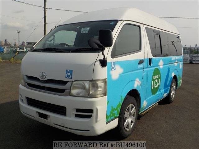 Used 2009 TOYOTA HIACE VAN BH496100 for Sale