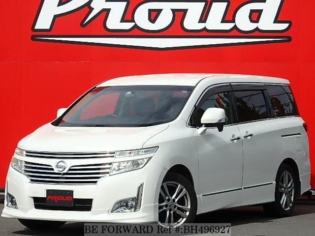 Used 2010 NISSAN ELGRAND BH496927 for Sale
