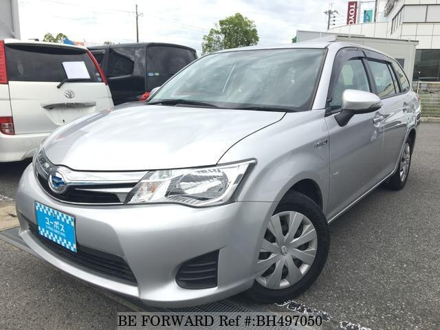 Used 2015 TOYOTA COROLLA FIELDER BH497050 for Sale