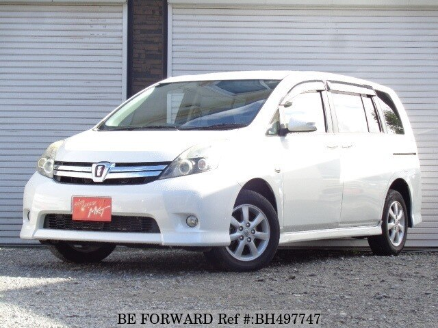 Used 2011 TOYOTA ISIS BH497747 for Sale
