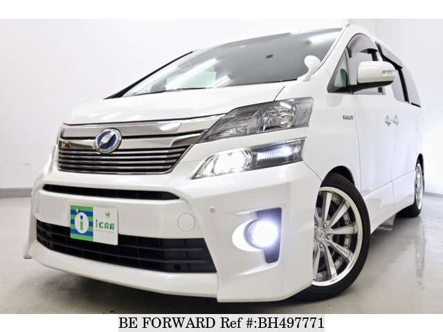 Used 2012 TOYOTA VELLFIRE HYBRID BH497771 for Sale