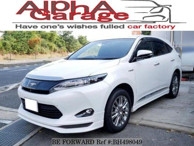 Used 2014 TOYOTA HARRIER HYBRID BH498049 for Sale