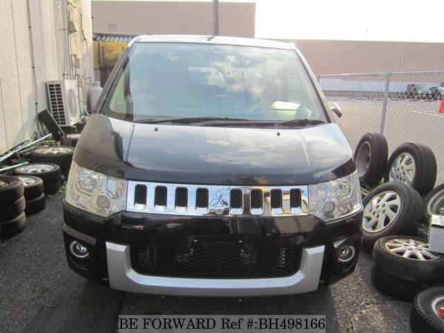 Used 2009 MITSUBISHI DELICA D5 BH498166 for Sale