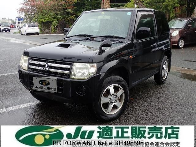 Used 2009 MITSUBISHI PAJERO MINI BH498598 for Sale