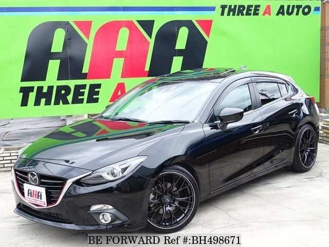 Used 2014 MAZDA AXELA SPORT BH498671 for Sale