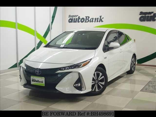 Used 2017 TOYOTA PRIUS PHV BH498691 for Sale
