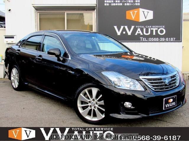 Used 2008 TOYOTA CROWN HYBRID BH498702 for Sale