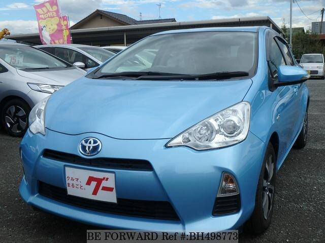 Used 2013 TOYOTA AQUA BH498773 for Sale