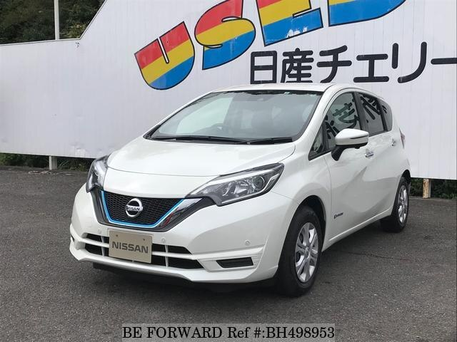 Used 2018 NISSAN NOTE BH498953 for Sale