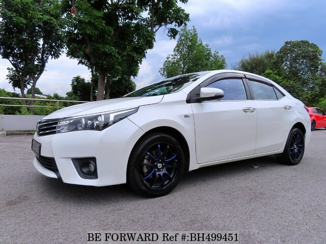 Used 2014 TOYOTA COROLLA ALTIS BH499451 for Sale