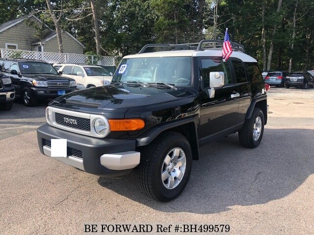 Used 2007 TOYOTA FJ CRUISER BH499579 for Sale