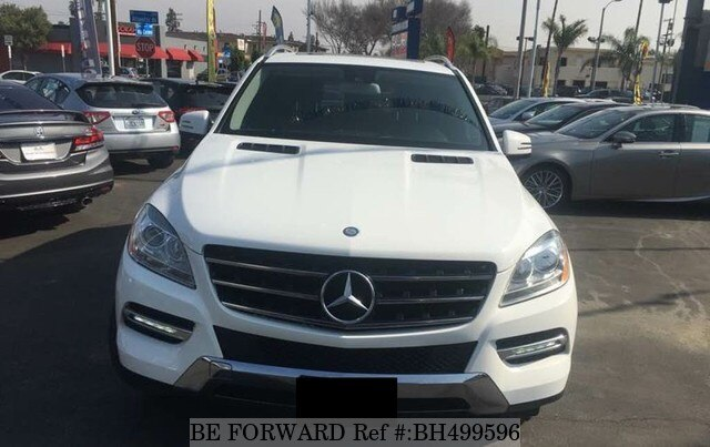 Used 2014 MERCEDES-BENZ M-CLASS BH499596 for Sale