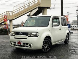 Used 2010 NISSAN CUBE BH499919 for Sale