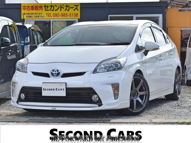 Used 2012 TOYOTA PRIUS BH500069 for Sale