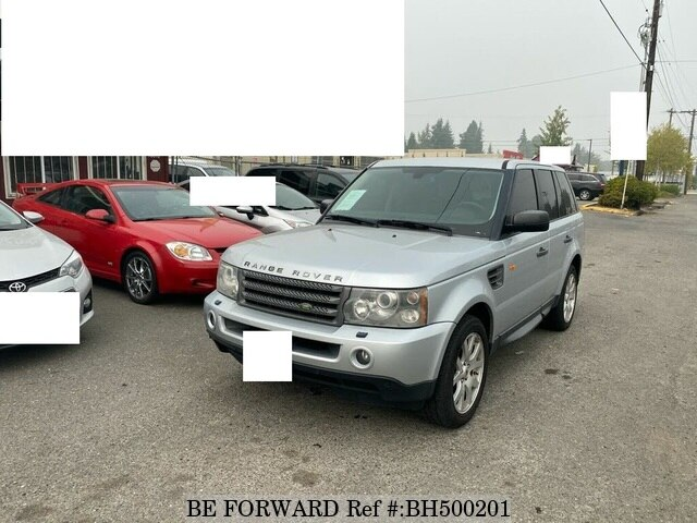 Used 2008 LAND ROVER RANGE ROVER SPORT BH500201 for Sale