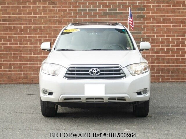 Used 2009 TOYOTA HIGHLANDER BH500264 for Sale