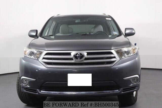 Used 2013 TOYOTA HIGHLANDER BH500345 for Sale
