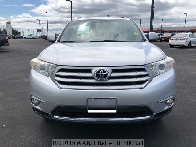 Used 2013 TOYOTA HIGHLANDER BH500354 for Sale