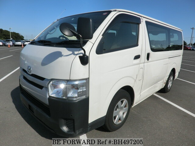 Used 2014 TOYOTA HIACE VAN BH497205 for Sale