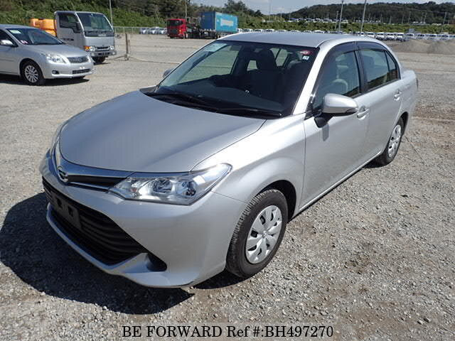 Used 2015 TOYOTA COROLLA AXIO BH497270 for Sale