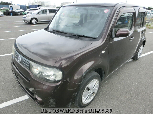 Used 2010 NISSAN CUBE BH498335 for Sale