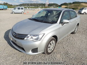 Used 2015 TOYOTA COROLLA AXIO BH500651 for Sale