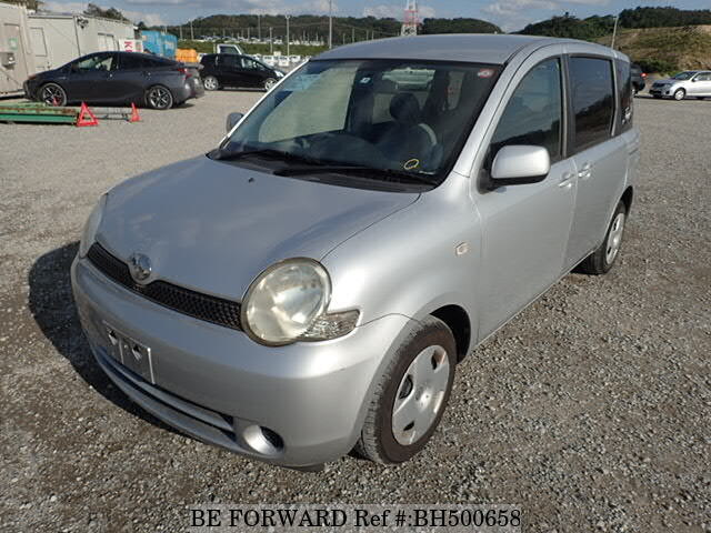 Used 2005 TOYOTA SIENTA BH500658 for Sale