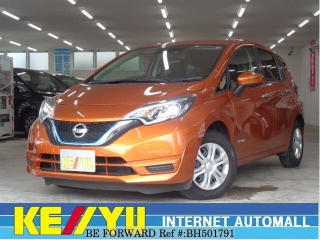 Used 2016 NISSAN NOTE BH501791 for Sale