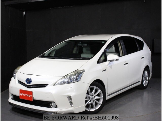 Used 2013 TOYOTA PRIUS ALPHA BH501998 for Sale