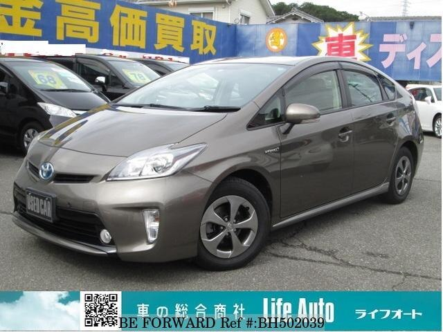 Used 2013 TOYOTA PRIUS BH502039 for Sale