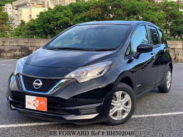 Used 2017 NISSAN NOTE BH502046 for Sale