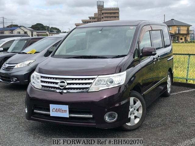 Used 2009 NISSAN SERENA BH502070 for Sale