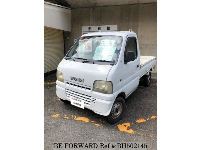 Used 2000 SUZUKI CARRY TRUCK BH502145 for Sale