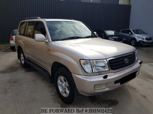 Used 1999 TOYOTA LAND CRUISER AMAZON BH502422 for Sale