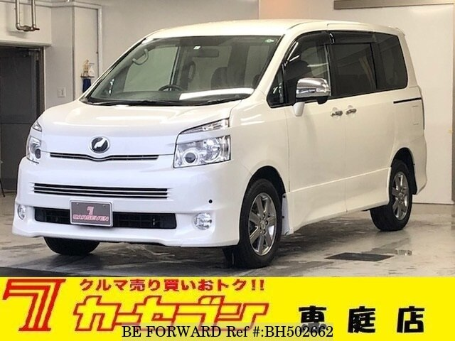 Used 2009 TOYOTA VOXY BH502662 for Sale