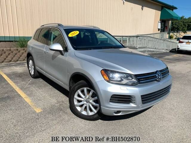 Used 2012 VOLKSWAGEN TOUAREG BH502870 for Sale