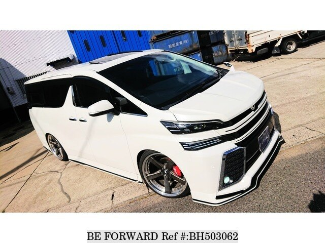 Used 2016 TOYOTA VELLFIRE BH503062 for Sale