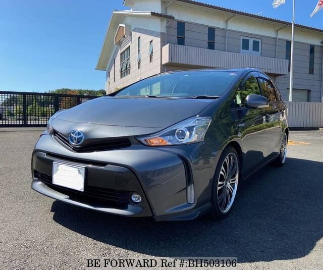 Used 2015 TOYOTA PRIUS ALPHA BH503106 for Sale