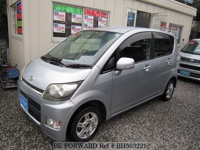 Used 2007 DAIHATSU MOVE CUSTOM BH503221 for Sale