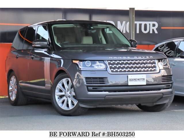 Used 2017 LAND ROVER RANGE ROVER VOGUE BH503250 for Sale