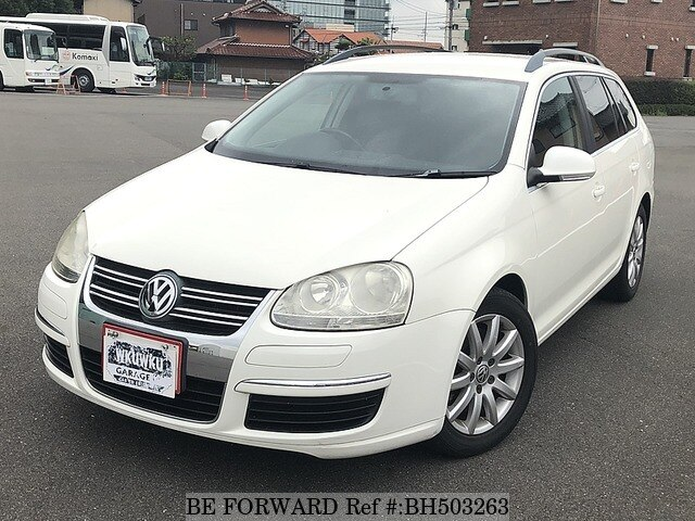 Used 2008 VOLKSWAGEN GOLF VARIANT BH503263 for Sale