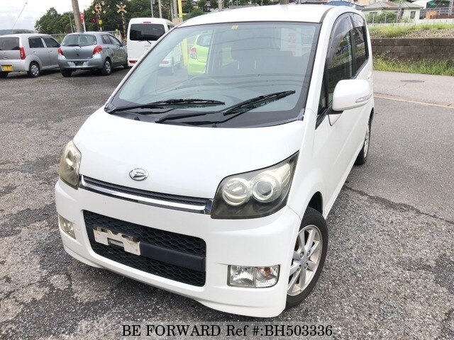 Used 2007 DAIHATSU MOVE CUSTOM BH503336 for Sale