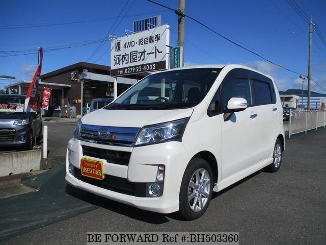 Used 2013 DAIHATSU MOVE BH503360 for Sale