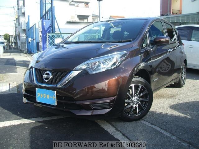 Used 2016 NISSAN NOTE BH503380 for Sale