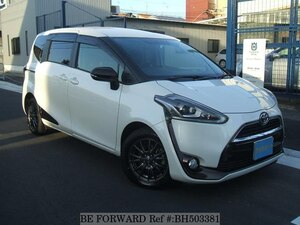 Used 2016 TOYOTA SIENTA BH503381 for Sale
