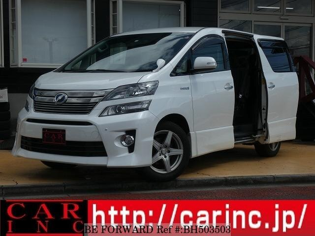 Used 2012 TOYOTA VELLFIRE HYBRID BH503503 for Sale
