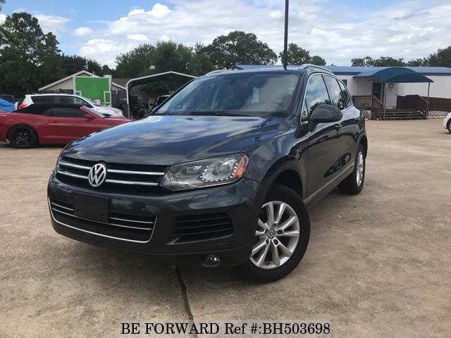 Used 2013 VOLKSWAGEN TOUAREG BH503698 for Sale