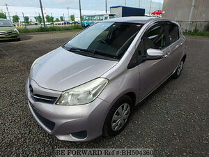 Used 2011 TOYOTA VITZ BH504360 for Sale