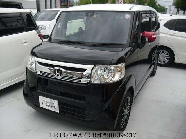 Used 2015 HONDA N BOX SLASH BH398317 for Sale